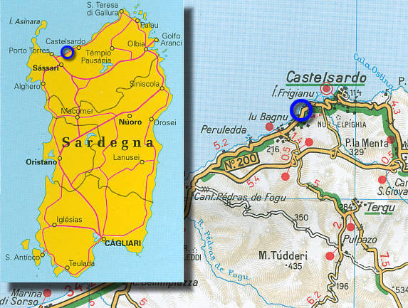 Cartina Sardegna Porto Torres.Vacanze Estive In Sardegna Affitti Appartamenti E Villette